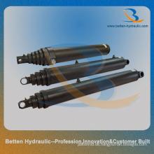 Hydraulikzylinder für lange Spur mit geschmiedeten Teilen