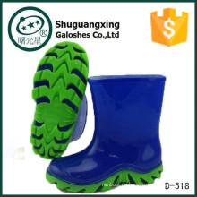 billig Cowboy Elefant Gummi Regen Stiefel mit verschiedenen Sohlen D-518