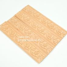 Оформление мебели рамками из резного цветка, лепка из дерева