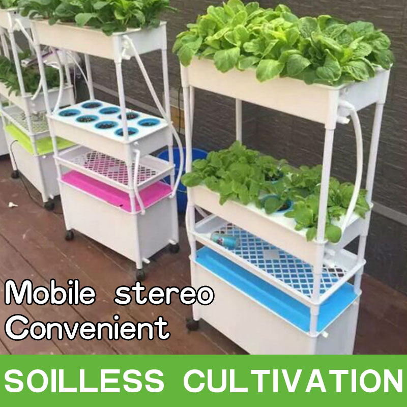 Hydroponic Greenhouse Vertical Tower Garden Growing Systems