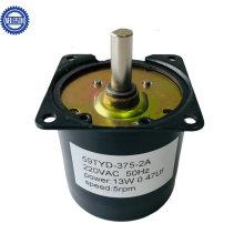 AC Permanent Magnet Synchronous Gear Motor 6rpm 30rpm 11W