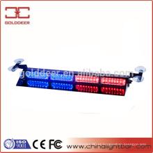 Barra de luz do diodo emissor viseira aviso, luzes estroboscópicas traço piscando para caminhões de polícia SL682-V