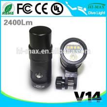 UV / RED-Beleuchtung Hochleistungs-LED-Taschenlampe Video
