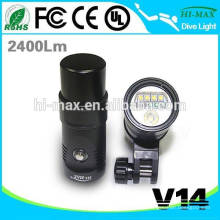 Lumière UV / ROUGE haute puissance lampe torche lumière vidéo