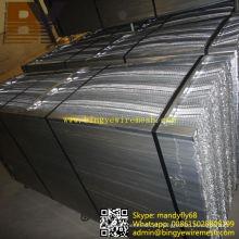Linha de metal expandida usada em material de construção