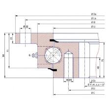 Rolamento de rotação de flange Torriani I. 1600.32.00. C