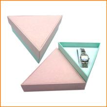Caixas de relógio com capa de ímã e couro