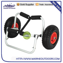 Aluminum beach cart, Aluminum beach trolley for kayak, Surfboard beach cart