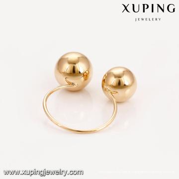 14908 Xuping nouveau design de mode en gros à guangzhou usine 18 k plaqué or femmes anneaux