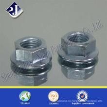 DIN6923 Gr8 Tuerca de brida hexagonal