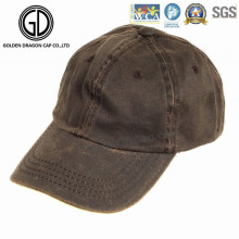 Classic Casual Fashion Cool Washed Brown Denim Baseball Cap