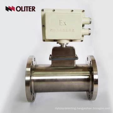 battery powered mass air natural gas oxygen flow meter