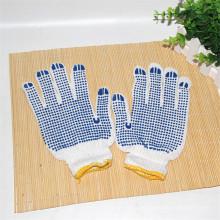 Sicherheits-Haushalts-Gartenarbeit-Arbeits-schützende PVC punktierte Handschuhe