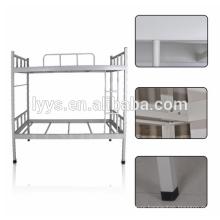 modern school furniture metal triple bunk bed