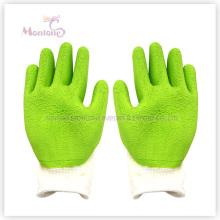 13gauge Foam Latex Palm recubierto / sumergido guantes de seguridad de trabajo de poliéster
