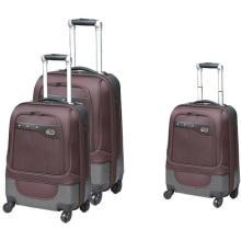 Nylon e ABS viagens saco fresco estilo marrom série