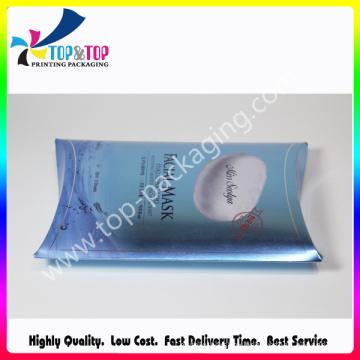 Template Free Pillow Shape Folding Box