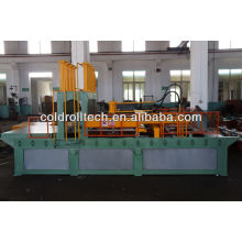 Corrugated fin forming machine for making steel transformer corrugated tank