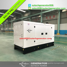50kva 40kw electric power diesel generator price with Perkin engine 1104A-44TG1