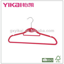ABS promocional Floking Hanger