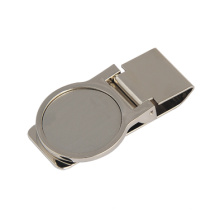 Regalo promocional del clip del dinero del metal de la impresión con insignia modificada para requisitos particulares (F7005A)