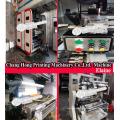 Крен для того чтобы свернуть Сплетенная печатная машина flexo