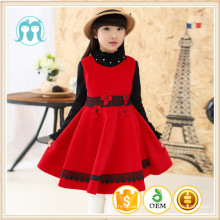 kids nylon pinafore western styles girls christmas dress party winter clothes on sale apparel new year children 2017