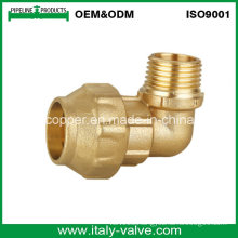 Customized Quality Brass Forged Male Elbow (IC-7009)