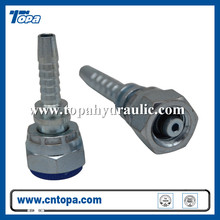 20411 steel hose bobcat hydraulic swivel brass fittings