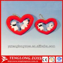 Самые продаваемые мягкие игрушечные сердечки из медвежьего плюша в 2014 году для подарков на день Святого Валентина
