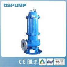 Bomba de aguas residuales sumergible de acero inoxidable de alto rendimiento y alta calidad