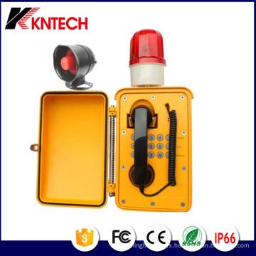 Altavoz de teléfono impermeable Knsp-08L Telefono de difusión Kntech