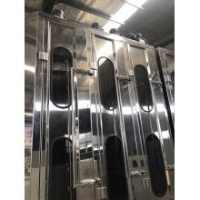 Coating glass washing and drying machine