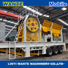 High quality chile portable crusher in the stone quarry