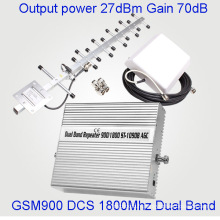 Full Intelligence Smart 900 / 1800MHz Amplificateur de répéteur de signal GSM GSM 3G Lte 4G Booster
