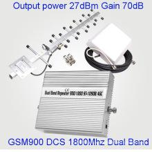 Умный усилитель ретранслятора GSM 3G Lte 4G Full Intelligence Smart 900 / 1800MHz