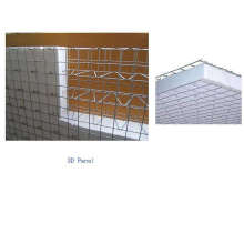 Galvanized 3D Welded Wire Mesh Panel Factory