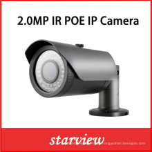 2.0MP Poe IP IR impermeable CCTV Seguridad Bullet cámara de red