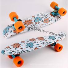 Скейтборд с водной печатью (YVP-2206-5)
