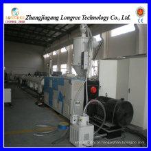 Máquina da produção da tubulação do PVC da extrusora da tubulação da fonte de água do PVC
