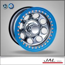 Chrome Wheels Golden Beadlock 4x4 Wheels Jantes pour VUS