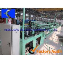 Diamantmaschenmaschine / galvanisierte Drahtkettengliedzaunmaschine / 4m Breitenkettengliedzaun, der Maschine herstellt (direkte Fabrik)