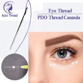 Cannula Ponta Aberta Eye Thread Lift PDO Mono