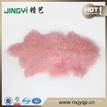 Fast Sale Long Hair Curly lamb Fur Tibetan Sheep Skin