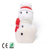 Snowman Shape USB Flash Drive for Christmas Gift