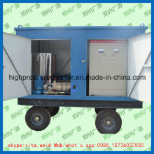 Limpador industrial de alta pressão do jato de água da limpeza da tubulação da arruela da limpeza