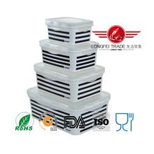 Gabinete de almacenamiento cuadrado moderno de la cocina plástica con el bloqueo