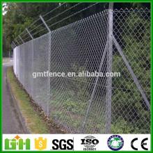 Venta al por mayor china de la fábrica Galvanizado y PVC revestido cerca del acoplamiento de cadena, acoplamiento de alambre del diamante 50x50m m (fabricante de Anping)