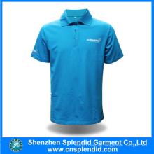 OEM-Großhandel 100% Baumwolle Mode Polo T-Shirt für Männer