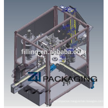 ZHFSC-1 Automatic facial cream filling sealing and capping machine